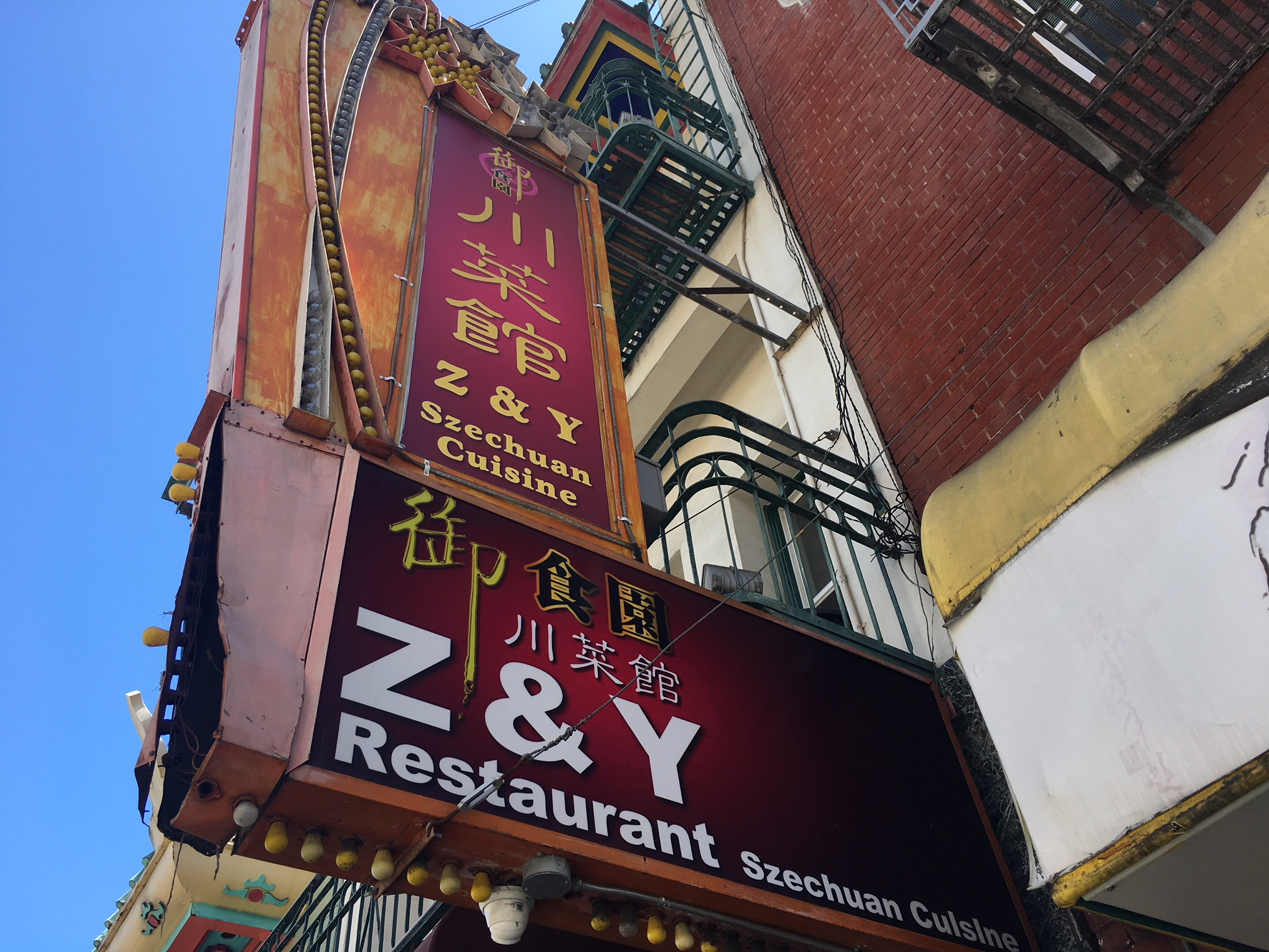 Where to eat and drink in San Francisco: Z&Y, Chinatown