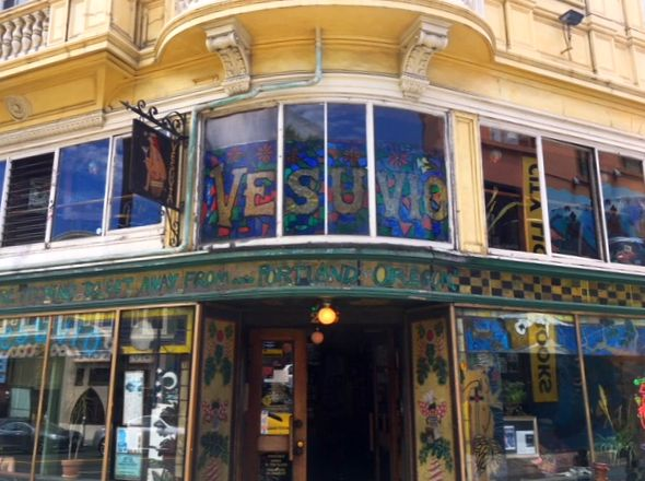 Where to eat and drink in San Francisco: Vesuvios Café, Chinatown