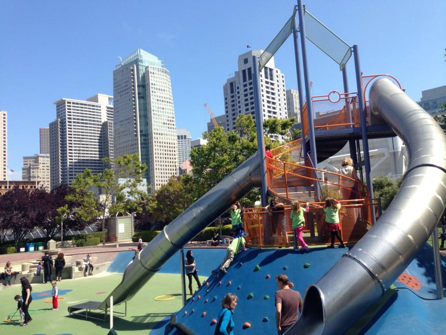 Top 5 Most Exciting Slides in San Francisco for children and grown-ups