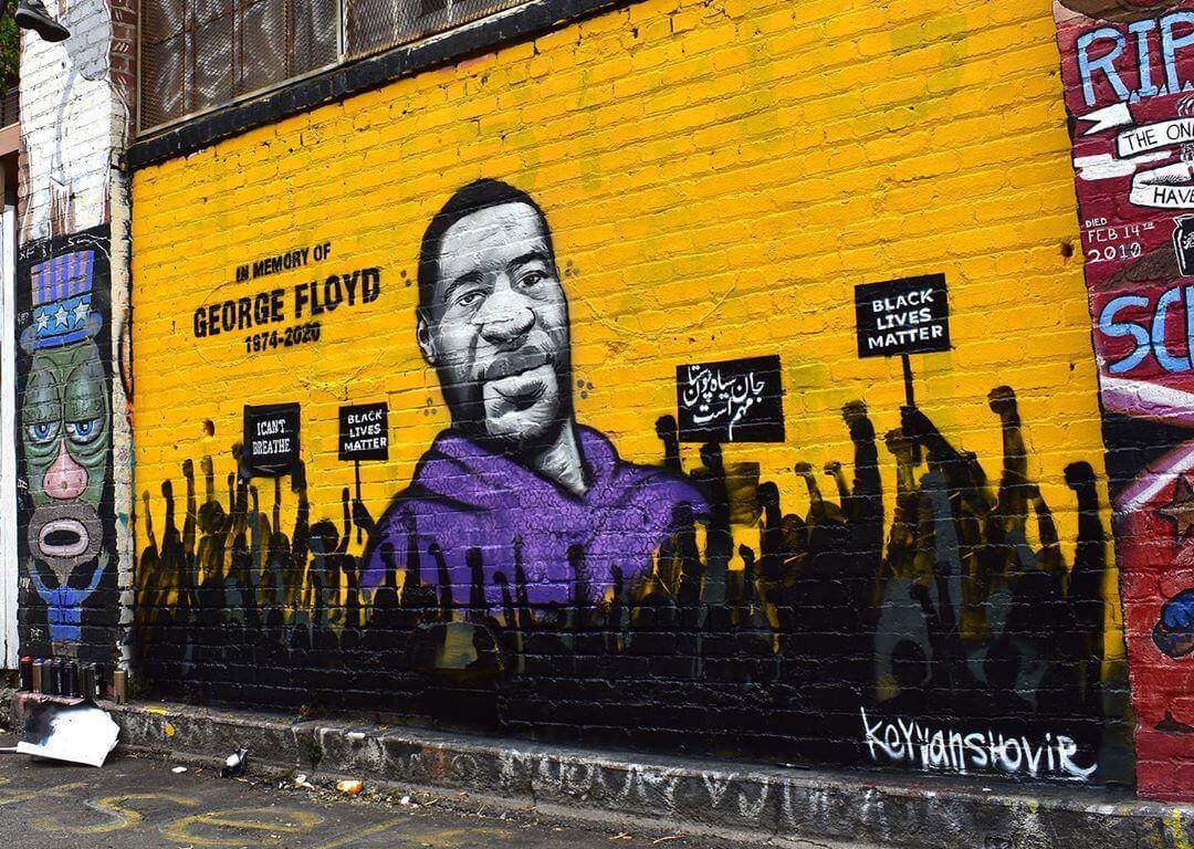 Clarion Alley Floyd Mural San Francisco