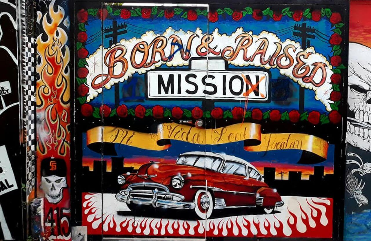 4+1 Street Art Locations in San Francisco's Mission District